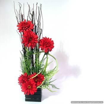Beautiful Artificial Gerbera Flower Arrangement