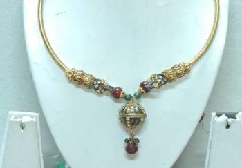 Traditional Handmade Jewellery For Women (N0038GP)