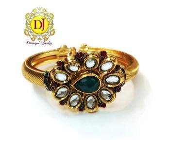 Kundan bracelet openable free size