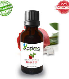 Buy Rose essential oil (15ml) 100% pure natural and undiluted oil essential-oil online