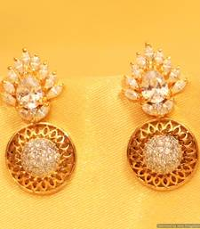 Buy Diamond Look Filigree Earrings eid-jewellery online