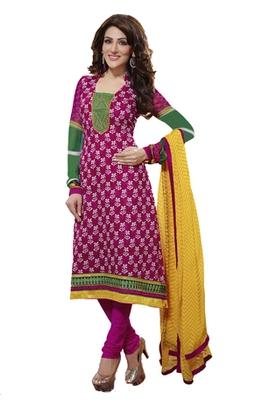 Adah Fashions Designer Embroidery  Salwar Kameez