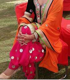 Buy Black  booti_work cotton unstitched salwar with dupatta punjabi-suit online