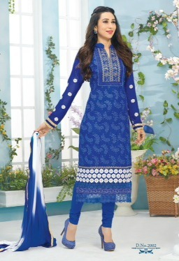 Karishma kapoor Fashionable Designer Straight Suit