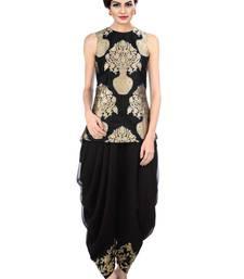 Buy indo western dhoti pant and jacket (Black) black-friday-deal-sale online