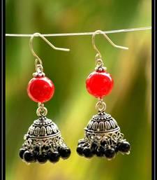 Buy Multicolor metallic jhumkas navratri-jewellery online