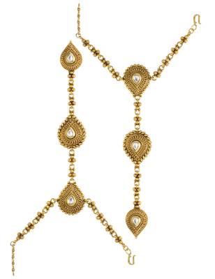 Clear Traditional Haath Panja Phool Jewellery for Women - Orniza