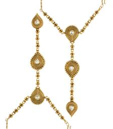 Buy Clear Traditional Haath Panja Phool Jewellery for Women - Orniza haath-phool-hath-panja online