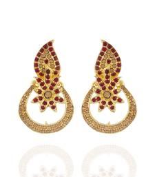 Buy Outstanding Chandbali Alloy Ear Hangings for Girls & Women danglers-drop online