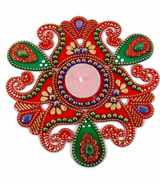 Buy Beautiful artificial rangoli diwali-decoration online