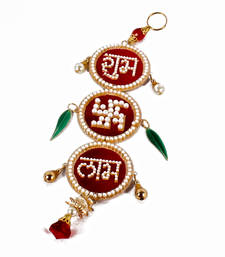 Buy Acrylic shubh labh sathiya hanging diwali-decoration online