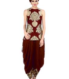 Buy indo western dhoti pant and jacket (Maroon) black-friday-deal-sale online