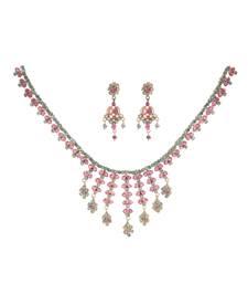 Buy Maroon Ruby gemstone necklaces gemstone-necklace online