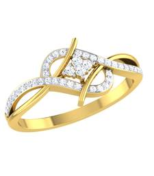 Buy 0.25ct diamond 18kt gold rings gemstone-ring online
