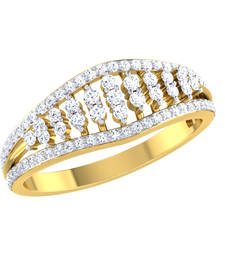 Buy 0.4ct diamond 18kt gold rings gemstone-ring online
