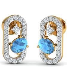 Buy 0.15ct diamond studs 18kt gold earrings gemstone-earring online