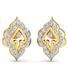 Buy 0.2ct diamond studs 18kt gold earrings gemstone-earring online