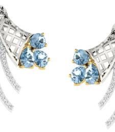 Buy 0.27ct diamond studs 18kt gold earrings gemstone-earring online