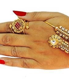 Buy Traditional HathPanja For Women Fashion Jewellery haath-phool-hath-panja online
