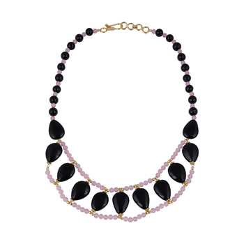 Chick gemstone beads necklace for women