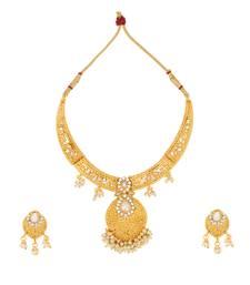 Buy Kundans jewellery sets kundan stone necklace set bridal jewellery necklace-set online