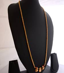 Buy Golden coral mangalsutra mangalsutra online