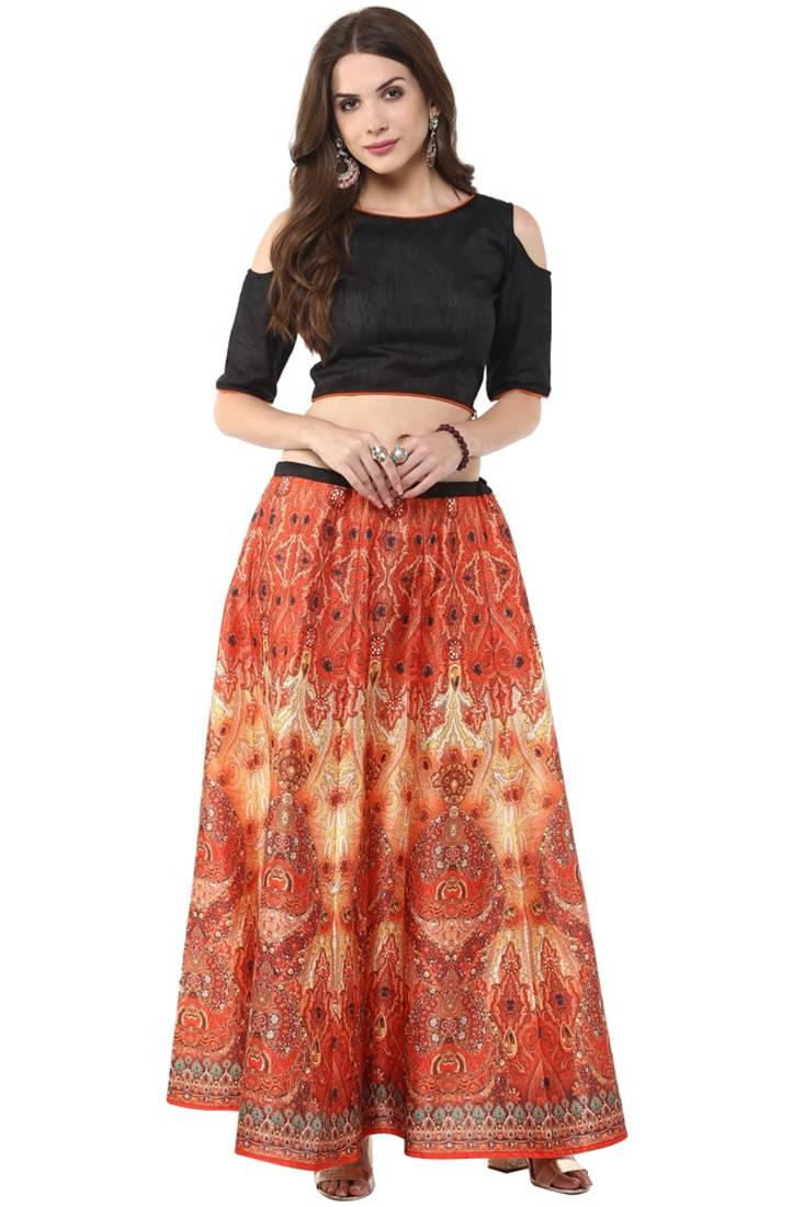 Long Skirts Women, Online Long Skirts and Top for girls