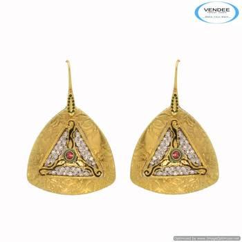 Vendee Diamond stud earring 6673