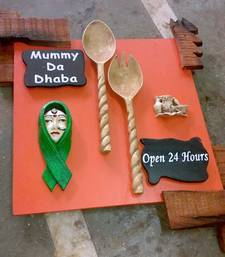 Buy Mummy Da Dhaba - Open 24 Hours wall-hanging online