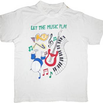 LET THE MUSIC PLAY - T-SHIRT