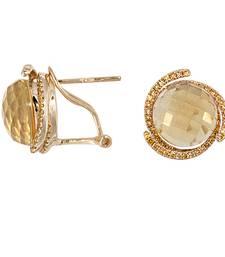 Buy 4.54ct diamond White gold Precious gemstone-earrings gemstone-earring online