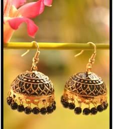 Buy Meenakari Mughal Designer Royal Earrings danglers-drop online