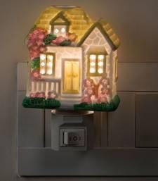 Buy Multicolor Sweet Hut Shape Night Lamp table-lamp online