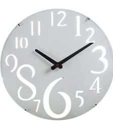 Buy White Beautiful Huge Numeral Wall Clock wall-clock online