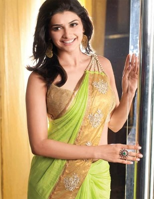 Bollywood sarees for evening parties