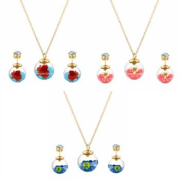 Multicolor cubic zirconia pendants