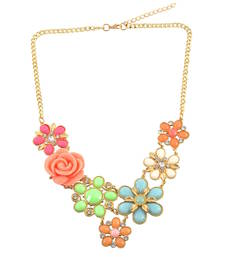 """Buy """" A Single Rose Can Be My Garden"""" Statement Necklace For Women's collar-necklace online"""