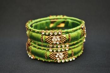 Beautiful Perfect for wedding light green bangles