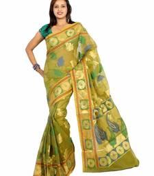 Buy Organza Multi Resham Zari Patola Saree ethnic-saree online