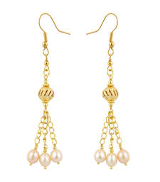 Buy Fresh Water Pearl Earrings danglers-drop online