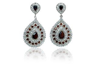 Best Selling Pear Shape Golden Indian Jewelry Earrings