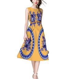 Buy Multicolor printed satin short-kurtis short-kurtis online