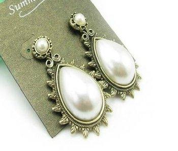 Pearl Drop Earrings(CFE0078)