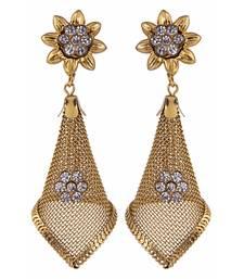 Buy gold plated jhumkas jhumka online