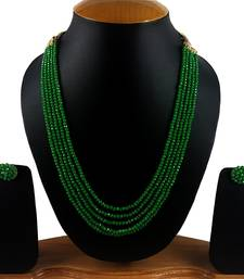 Buy Green onyx necklace-sets necklace-set online
