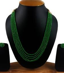 Buy Green onyx necklace-sets necklace-set online