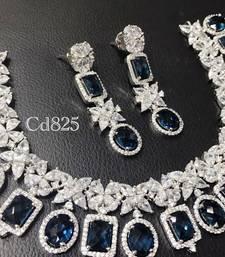 Buy Delicte fine MONTANA BLUE necklace set necklace-set online
