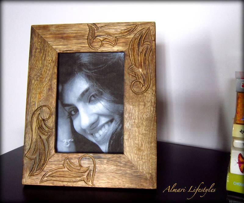 Buy Designer Picture Frames: Handcarved Wooden Frames Online