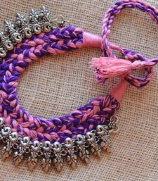 Buy Silver metallic necklaces Necklace online
