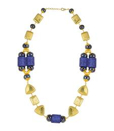 Buy Gold Color Aliena Bead Necklace for Women collar-necklace online